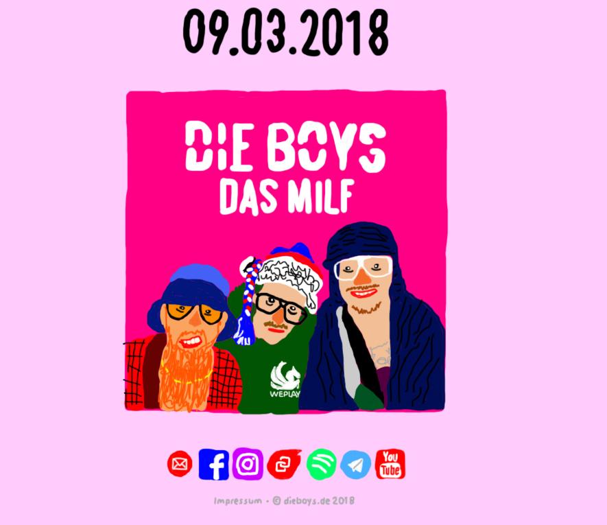 """Die Boys aus Hamburg beten """"Das MILF"""" in ihrem neuen, sehr pikanten SM-Fetisch-Video an!"""