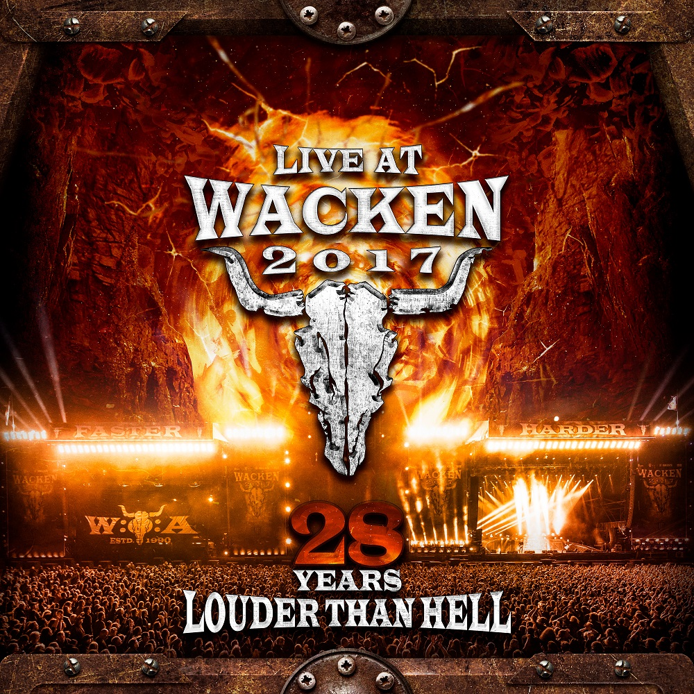 """LIVE AT WACKEN 2017 - 28 YEARS LOUDER THAN HELL""/ VÖ: 20. Juli 2018"