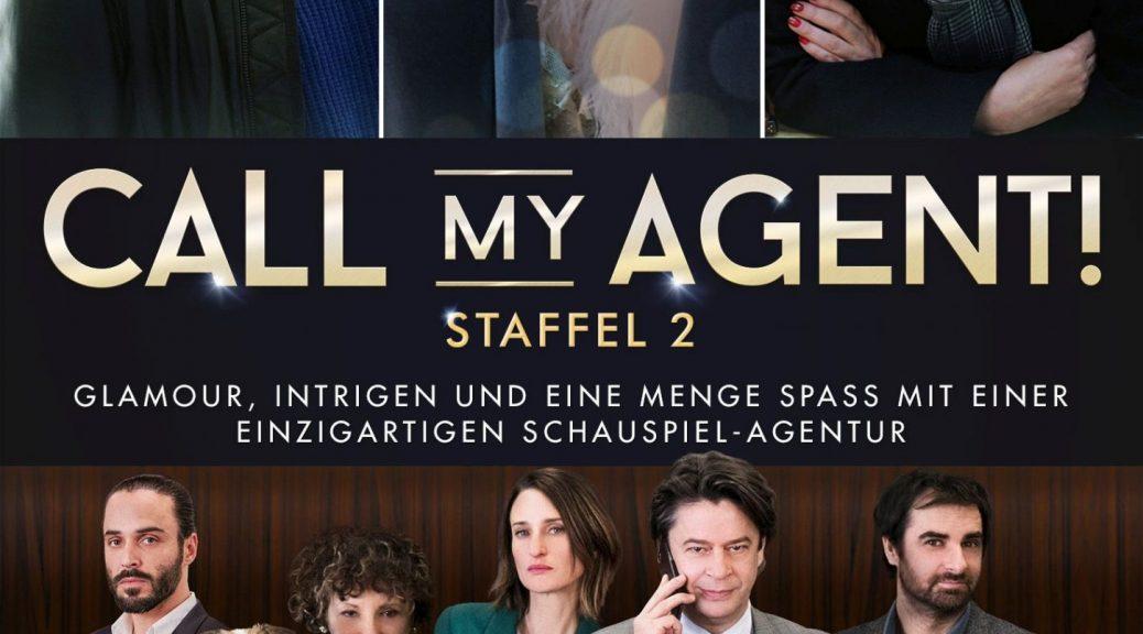 Drama, Baby! Staffel 2 der amüsanten TV-Serie über eine Pariser Künstleragentur: Call My Agent! (OT: Dix Pour Cent) – u. a. mit Isabelle Adjani, Juliette Binoche, Christophe Lambert und Guy Marchand (DVD-VÖ: 15.06.2018 + digital; 2 DVDs; Edel:Motion)