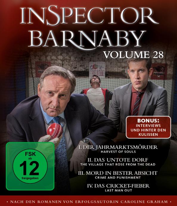 """Ganz viel Neues bei Inspector Barna-by: ein Hund, ein Sergeant, vier Mordrätsel Mit Detective Sergeant Jamie Winter (Nick Hendrix) und dem süßen Terrier-Mischling Paddy sind in der 28. Staffel der Erfolgsserie gleich zwei neue """"Schnüffler"""" dabei"""