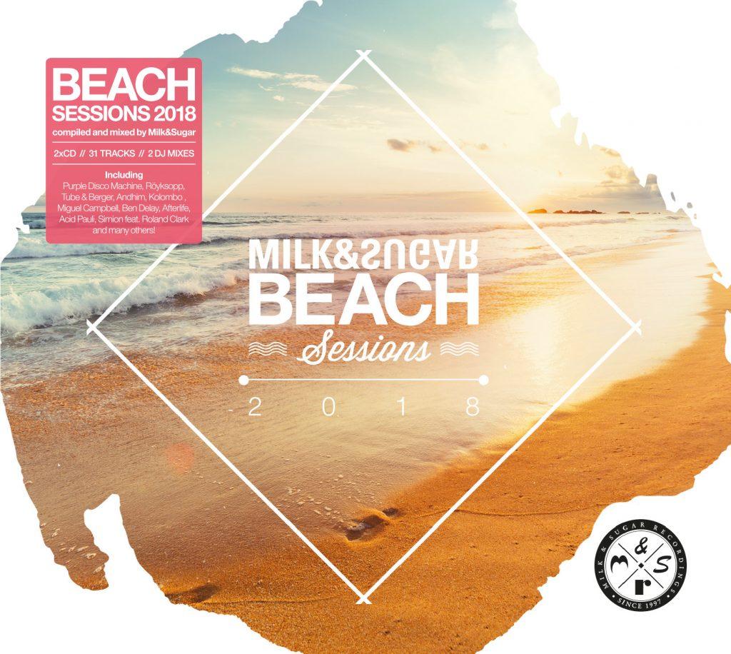 Beach Sessions 2018 erscheint am 10. 08. als limitierte CD-Auflage sowie als Download-Edition.