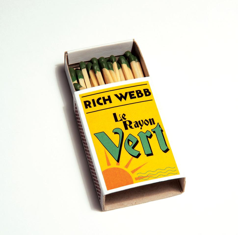 Rich Webb - Le Rayon Vert - Album Cover