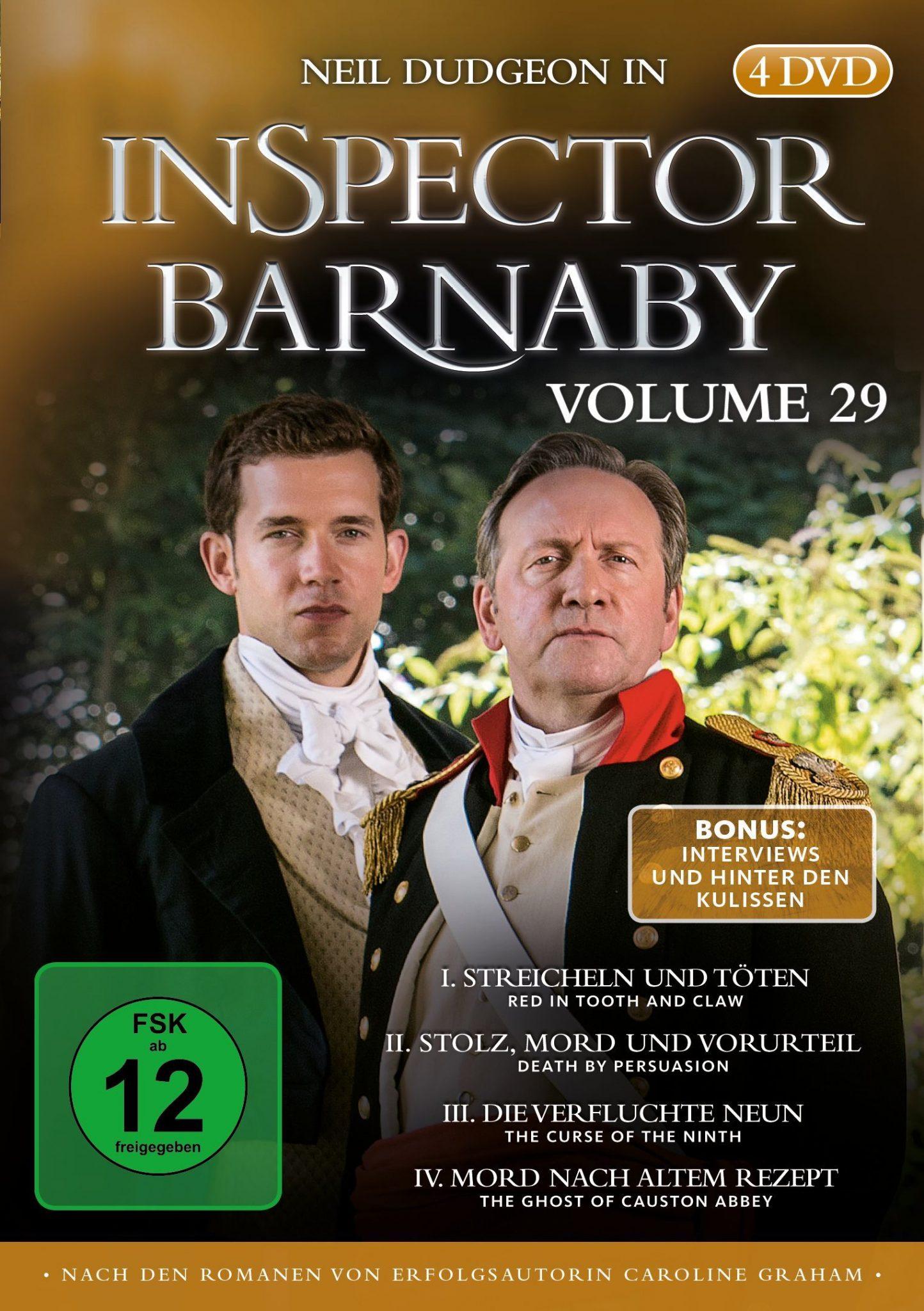 Das britische Ermittler-Duo ist zurück: Die 29. Staffel von Inspectory Barnaby erscheint im Januar auf DVD und Blu-ray