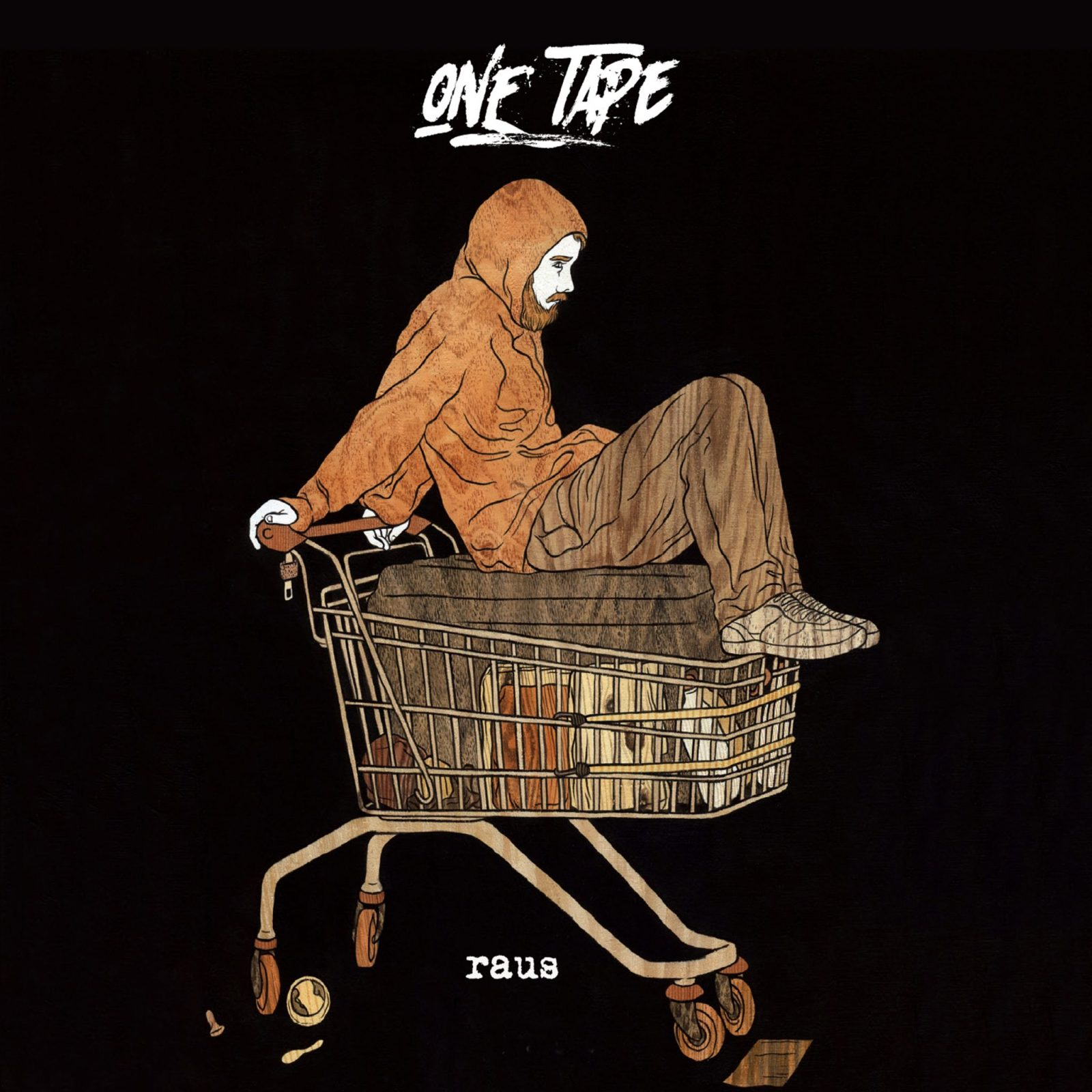 """ONE TAPE """"raus"""" VÖ 25.01.2019 im Vertrieb von Cargo Records"""