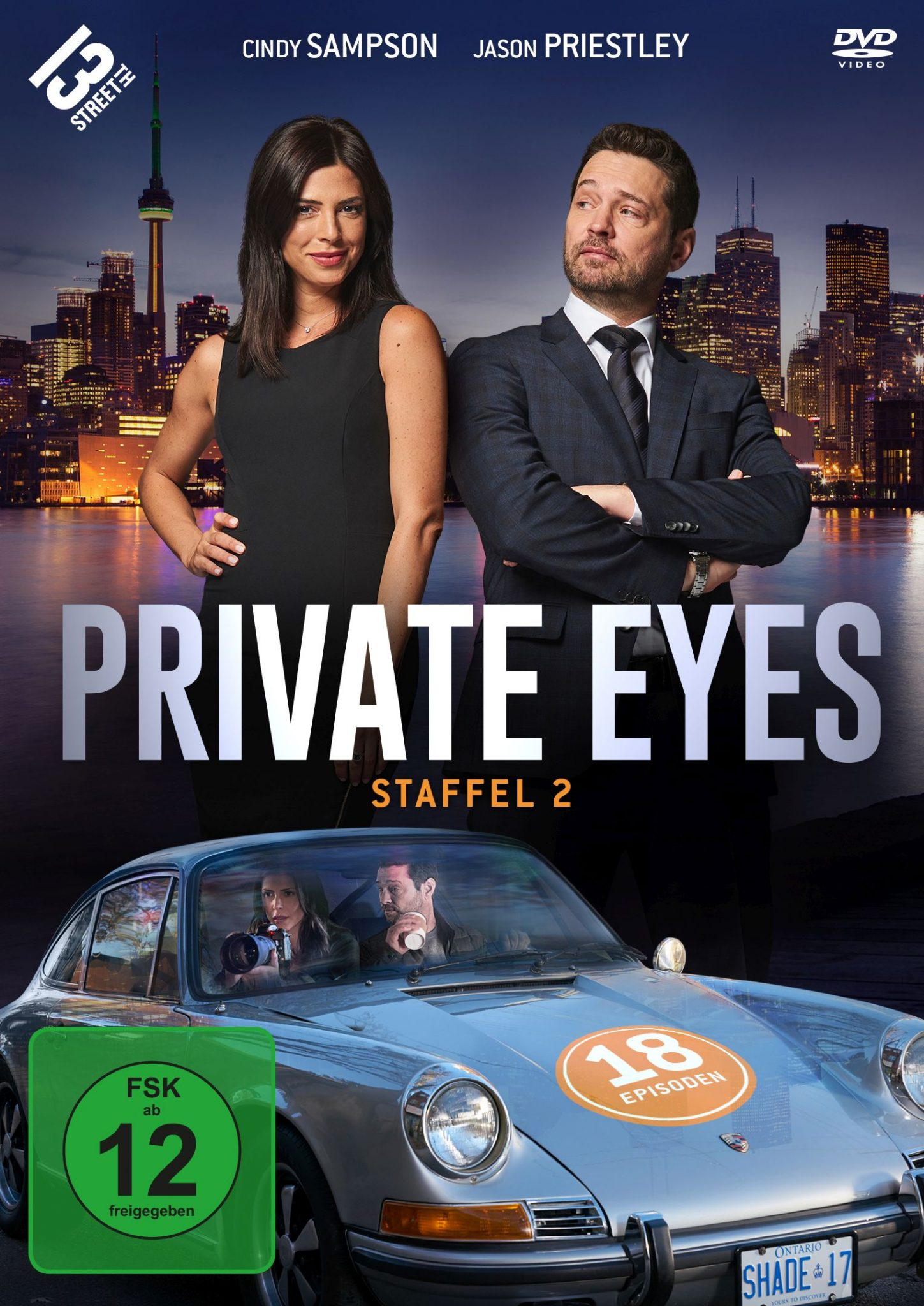 Private Eyes - Staffel 2 DVD