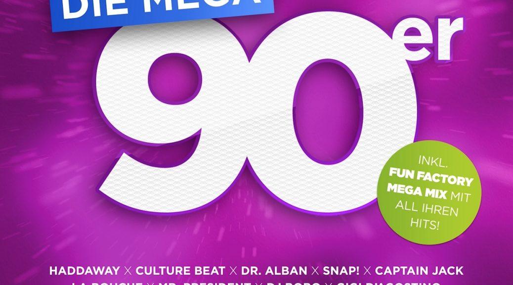 DIE MEGA 90er – DAS ALBUM DEINES LEBENS