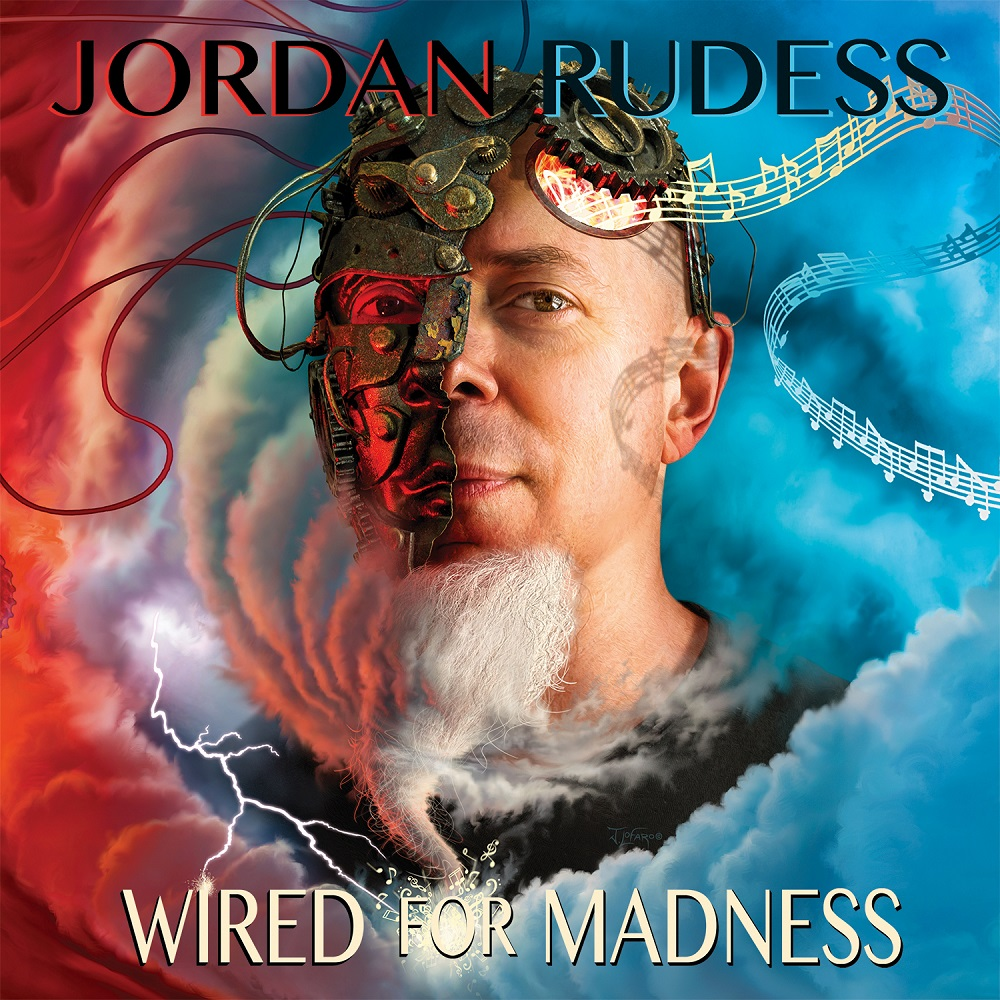 "JORDAN RUDESS - Keyboarder von Dream Theater veröffentlicht ""WIRED FOR MADNESS"" am 19. April!"