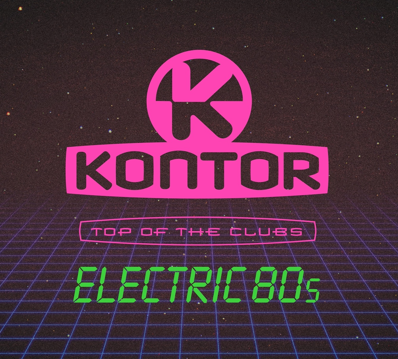 Various Artists ''Kontor Top Of The Clubs – Electric 80s""