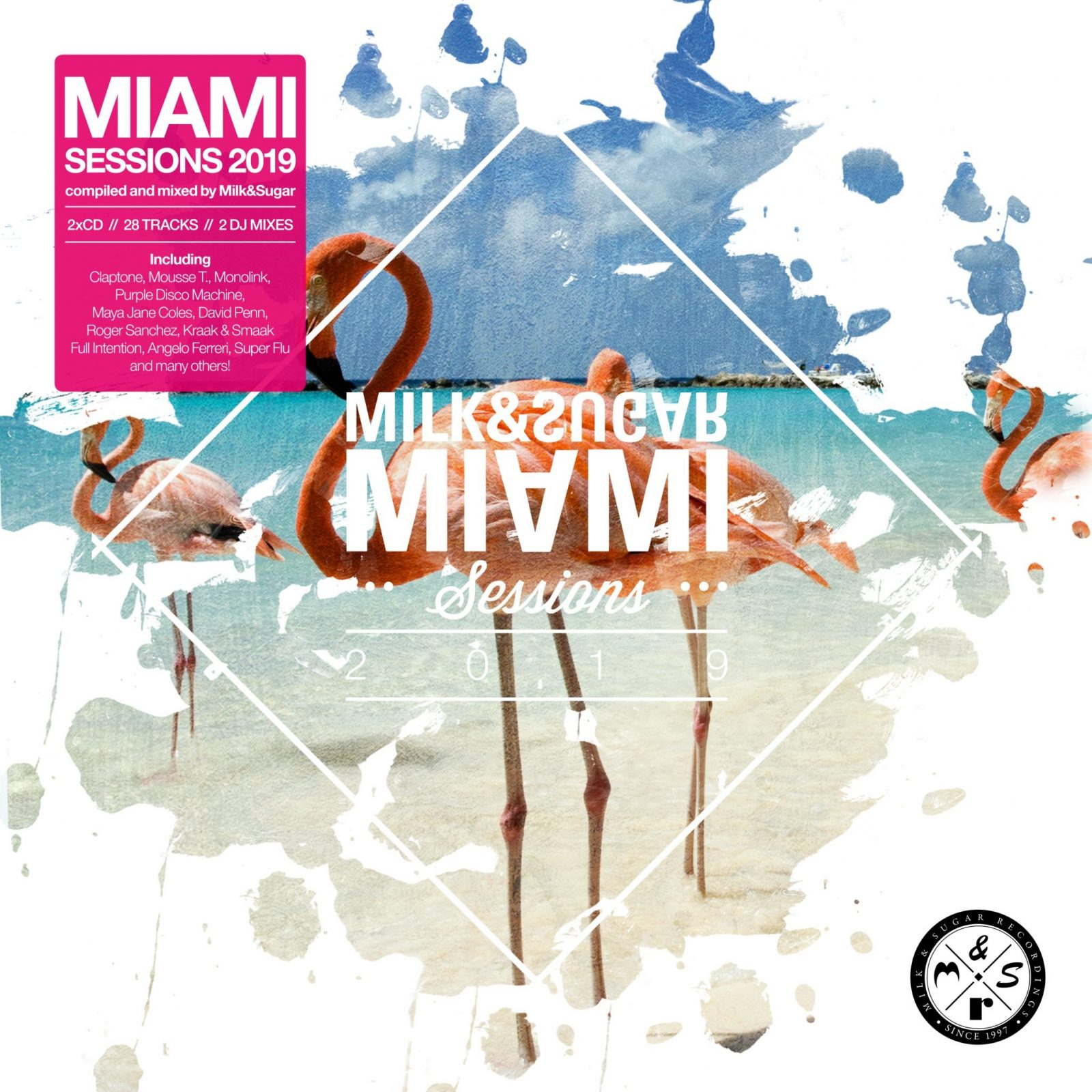 MIAMI SESSIONS 2019  - Compiled and Mixed by Milk & Sugar