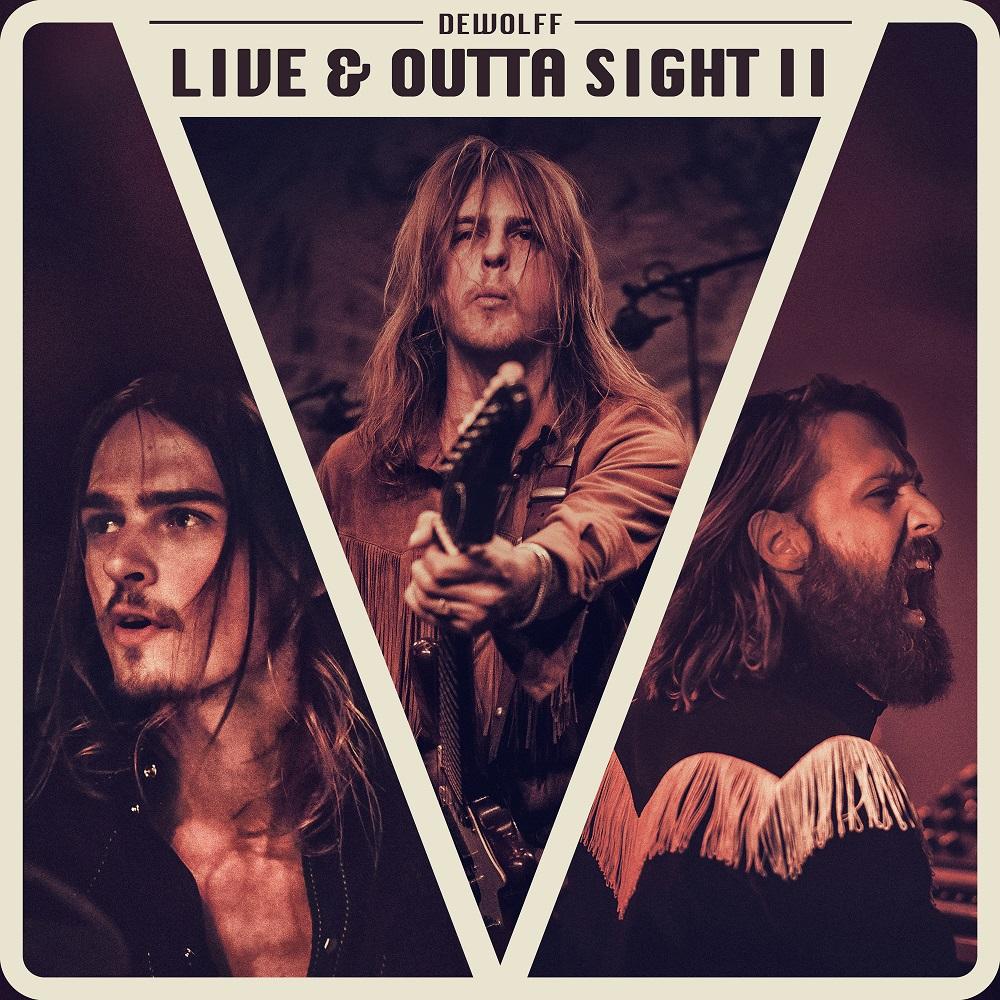 """DeWolff veröffentlichen ihr neues Live Album """"Live & Outta Sight II"""""""