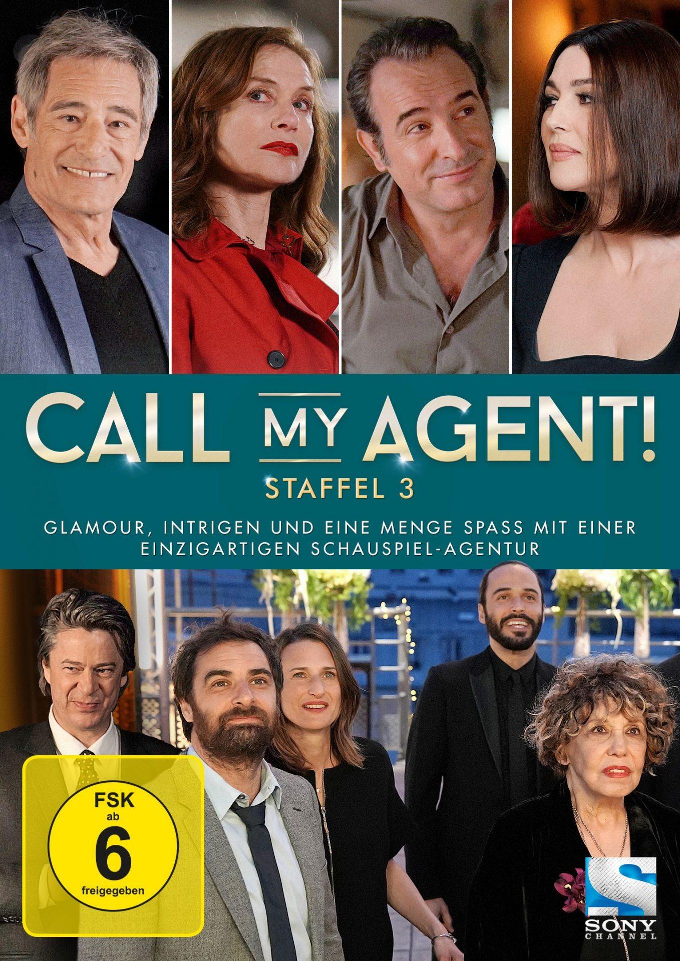 3. Staffel der amüsanten TV-Serie über eine Pariser Künstleragentur: Call My Agent!