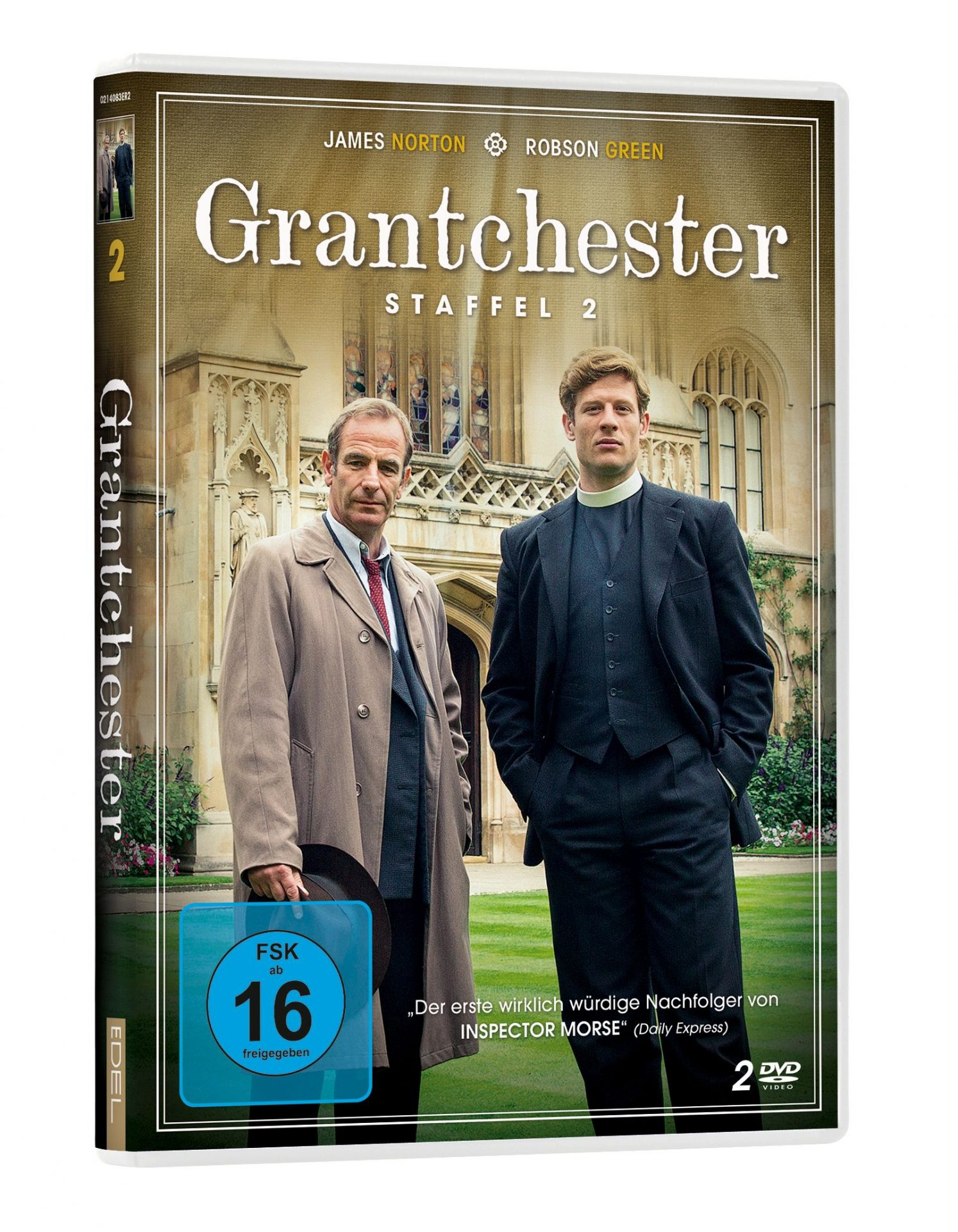 Grantchester, 2. Staffel – englische Retro-Krimiserie nach den Grantchester Mysteries von James Runcie