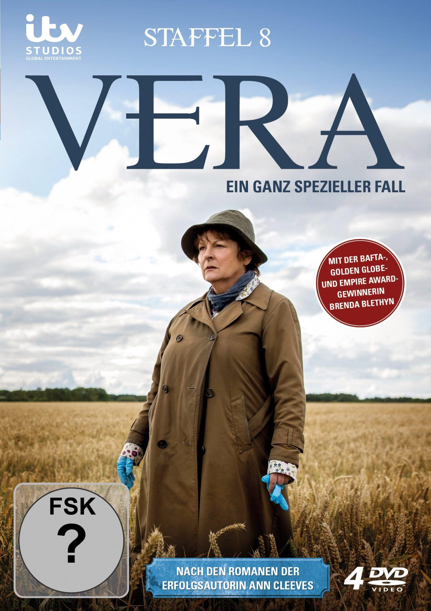 """""""Vera – Ein ganz spezieller Fall Staffel 8"""" DVD"""