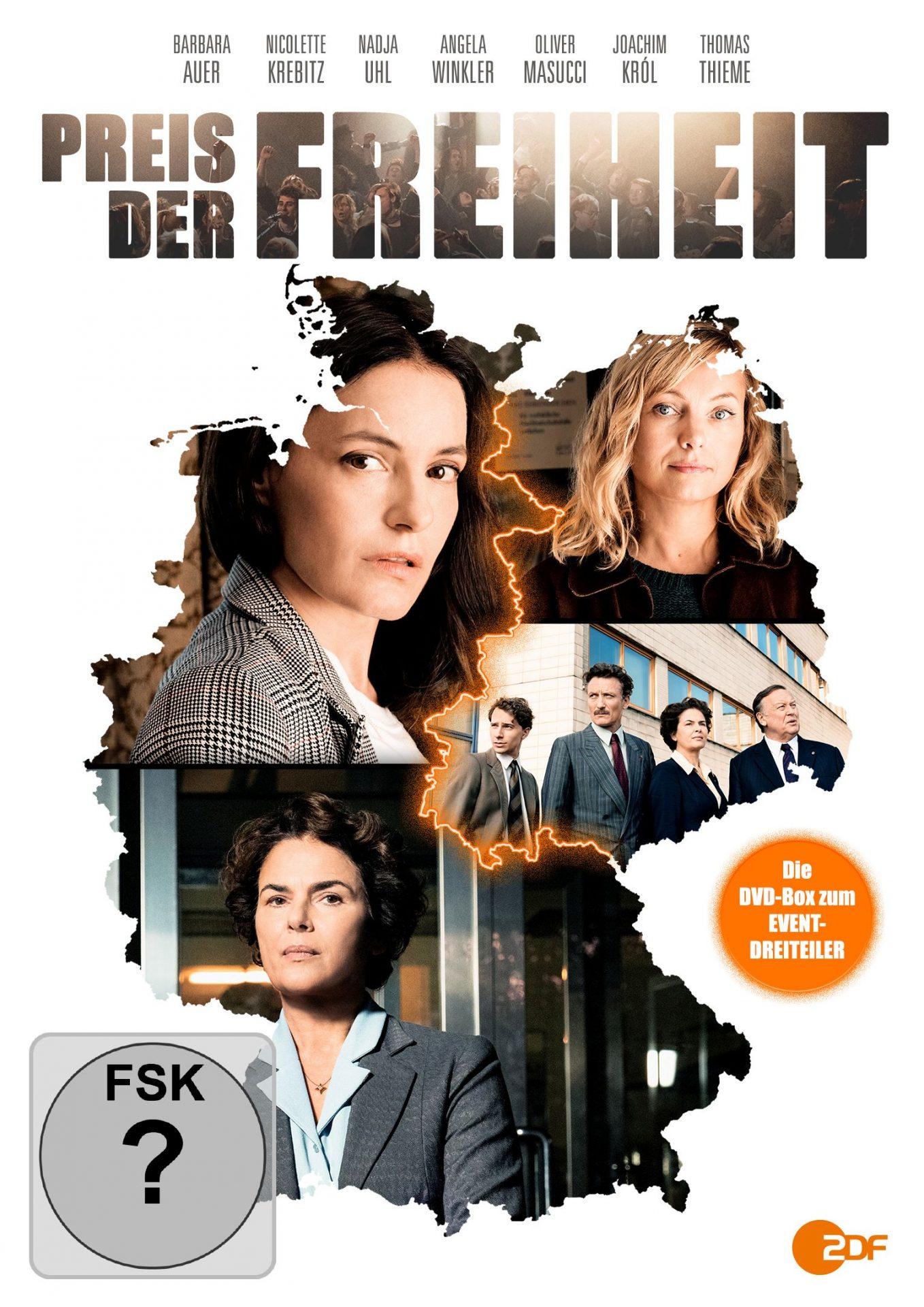 Preis der Freiheit - dreiteiliges Ost-West-Drama zum 30. Jahrestag des Mauerfalls (DVD, Edel Motion)
