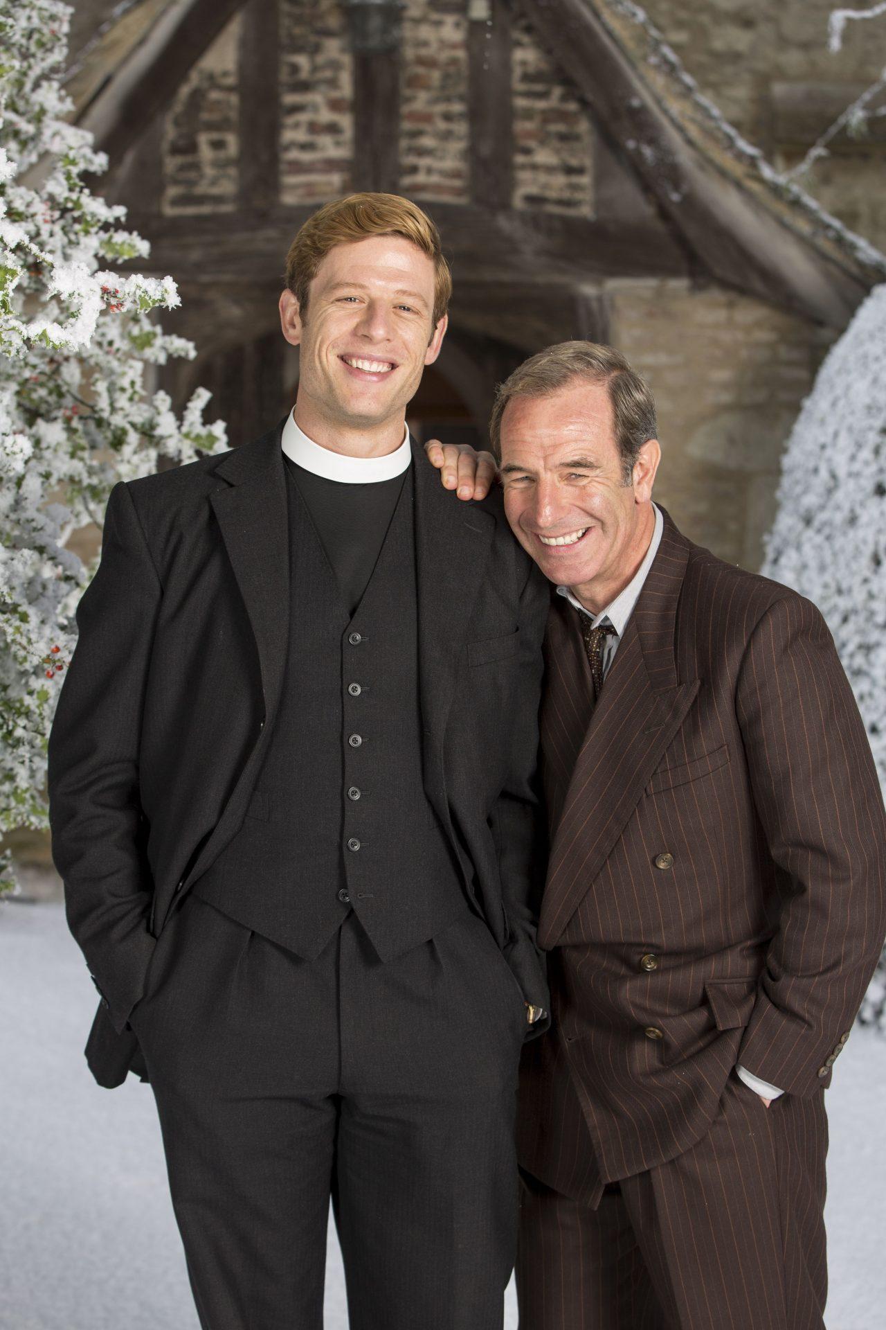 Weihnachten in Grantchester Sidney Chambers + Geordie Keating