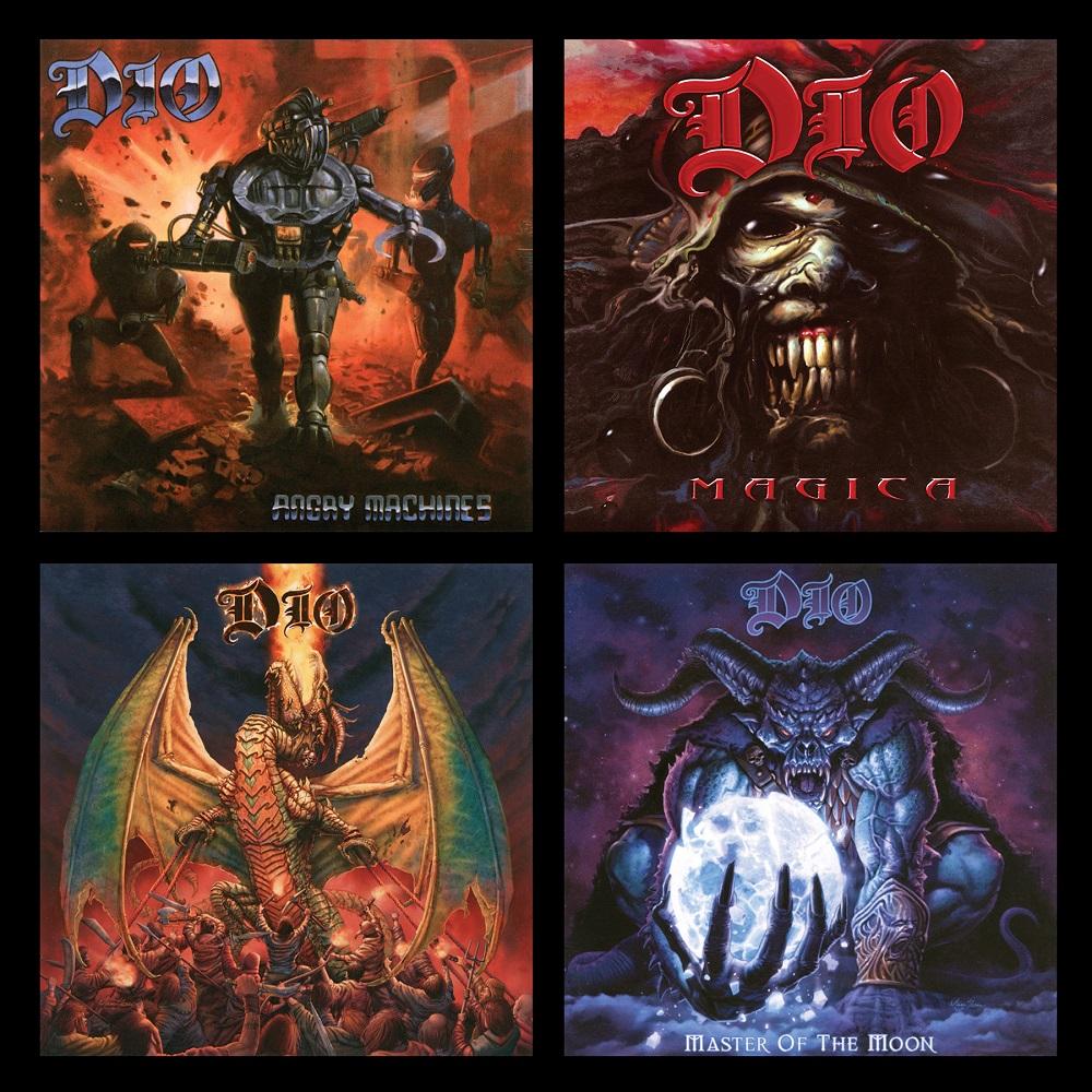 DIO - Die Studio Album Sammlung: 1996 - 2004 - VÖ: 21. Februar 2020