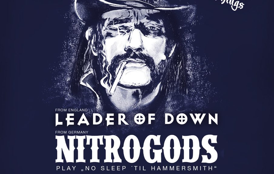 Tribute to Motörhead mit Leader Of Down & Nitrogods am 28. Dezember 2019 in Berlin