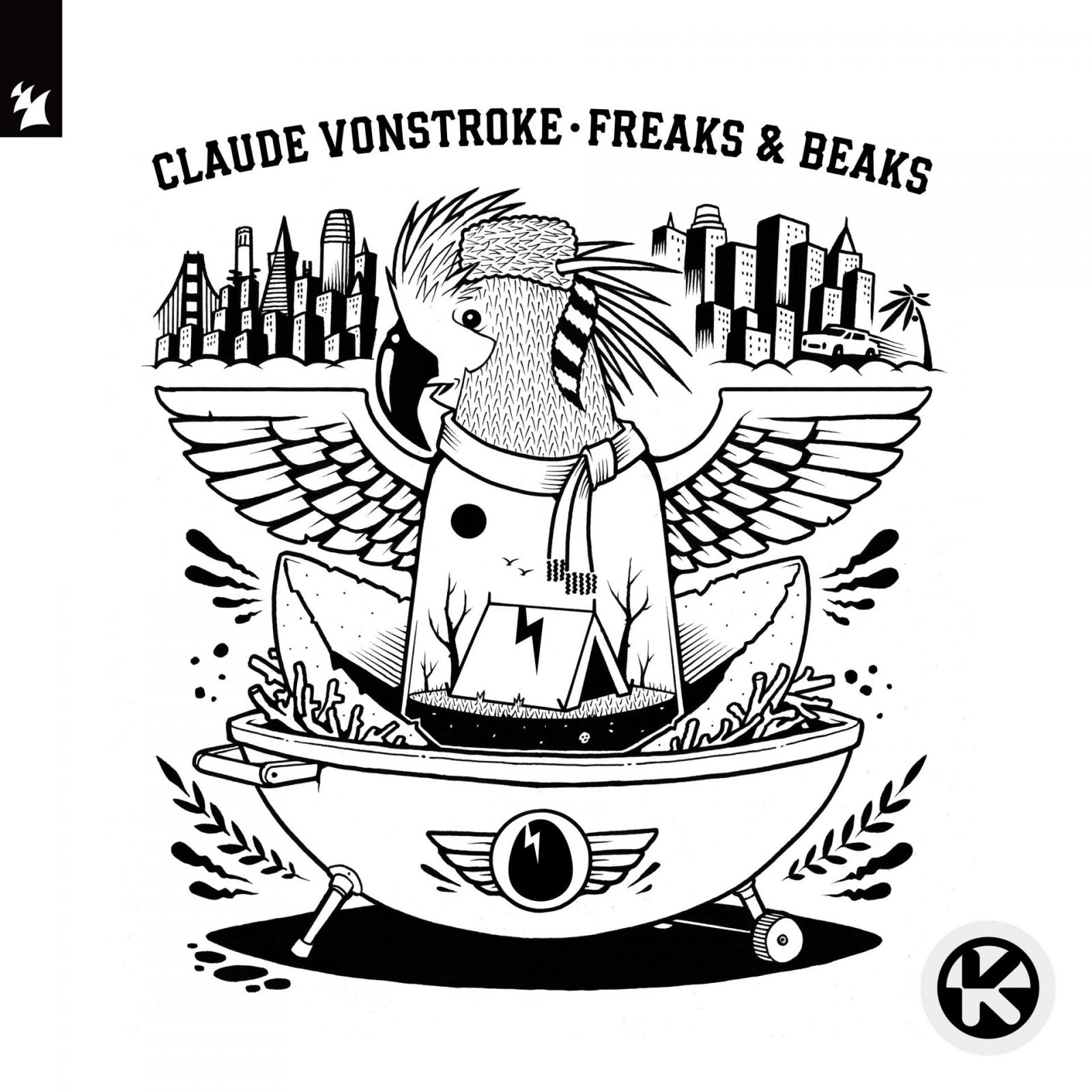 "Claude VonStroke ""Freaks and Beaks"""
