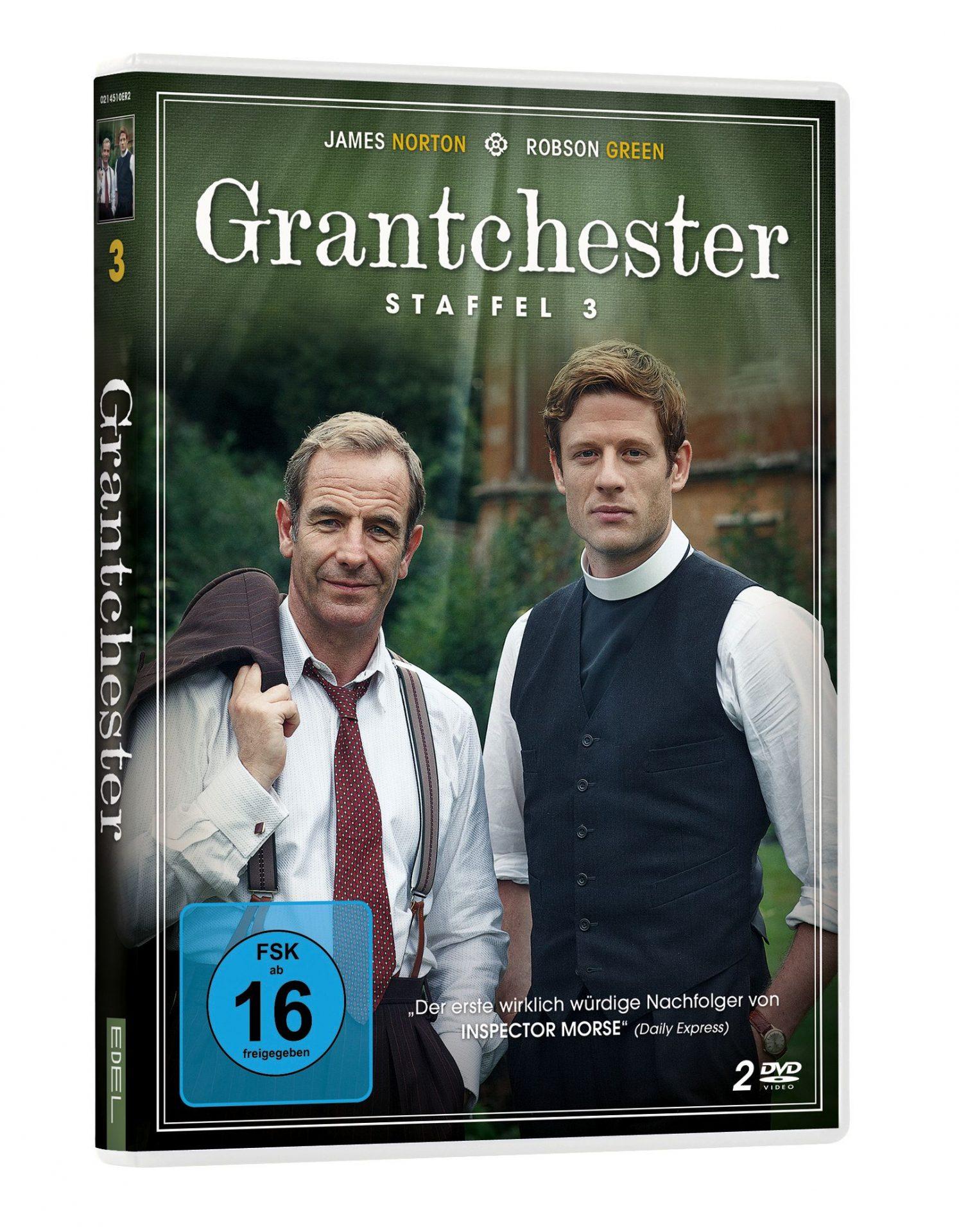 Grantchester - Staffel 3 DVD