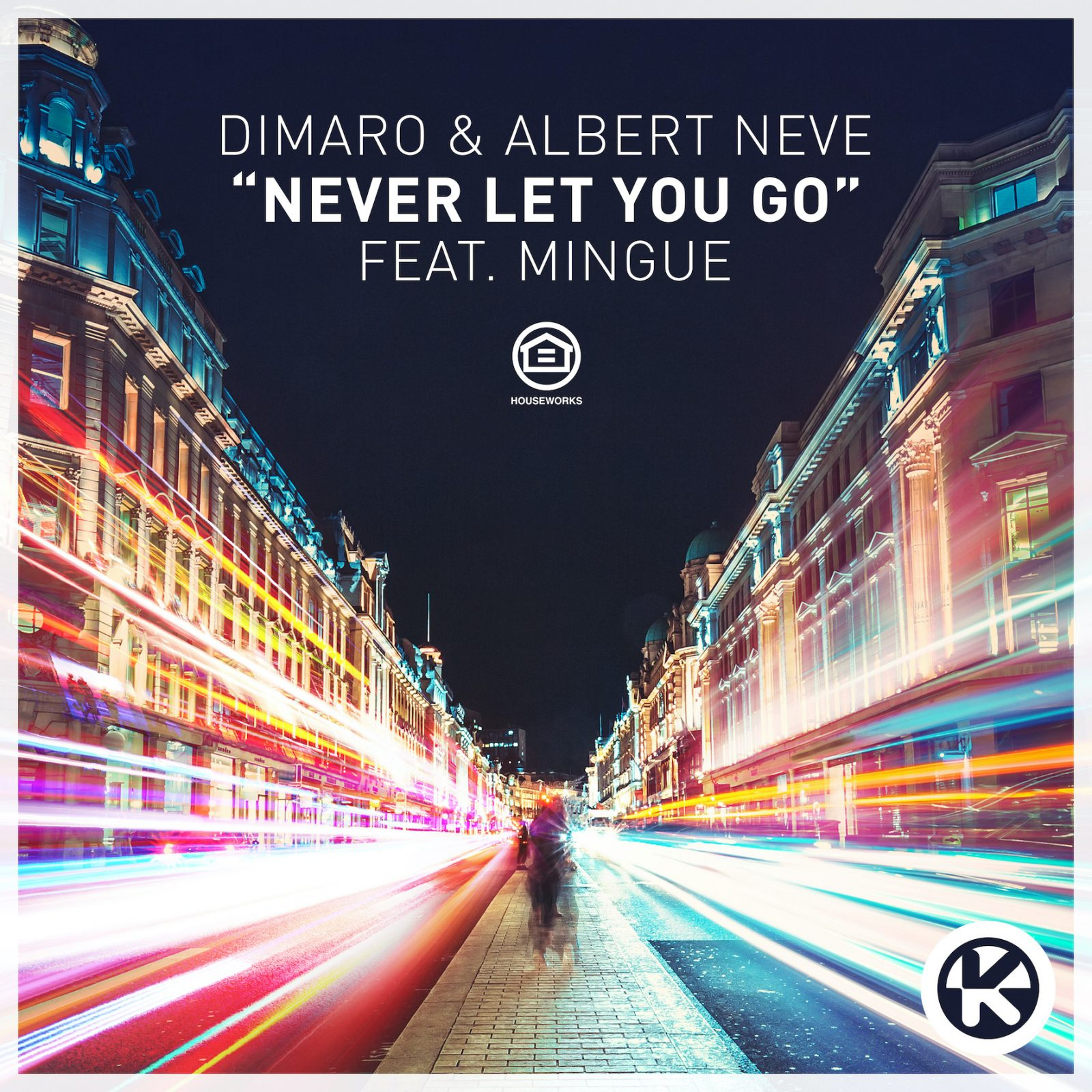 "DIMARO & ALBERT NEVE FEAT. MINGUE ""Never Let You Go"""