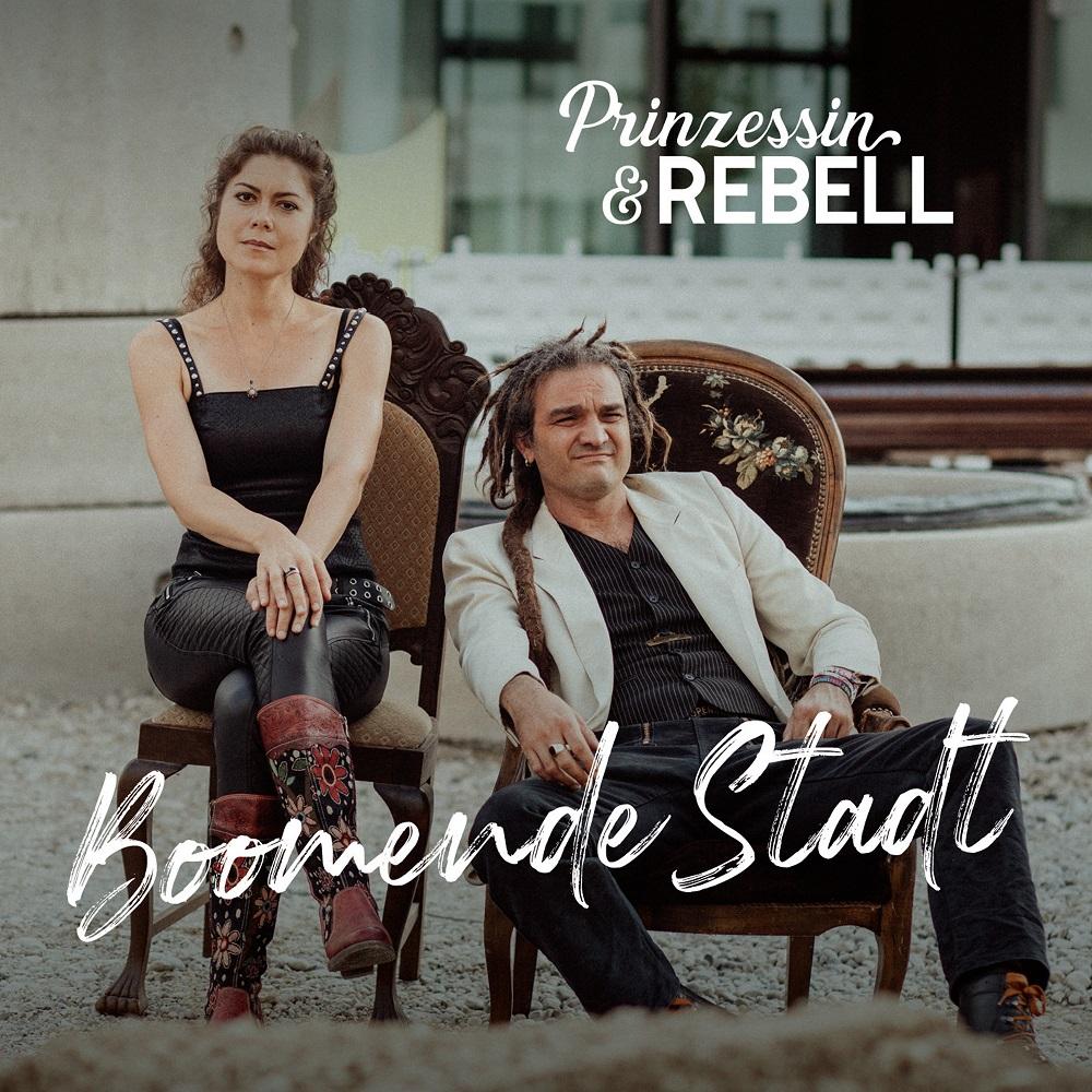 """Prinzessin & Rebell veröffentlichen ihr Debüt Album """"Boomende Stadt"""" am 28.08.2020"""