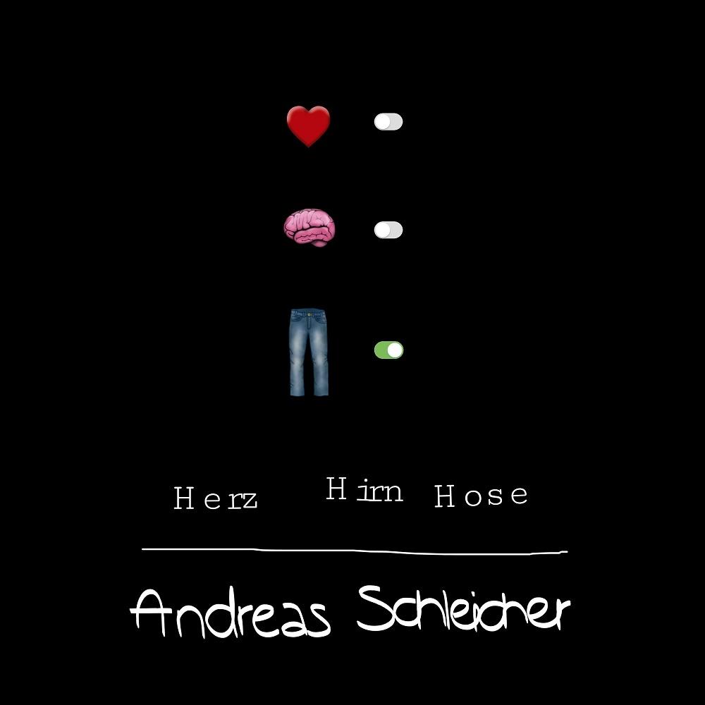 """Andreas Schleicher veröffentlicht sein neues Album """"HERZ HIRN HOSE"""" am 26.06.2020"""