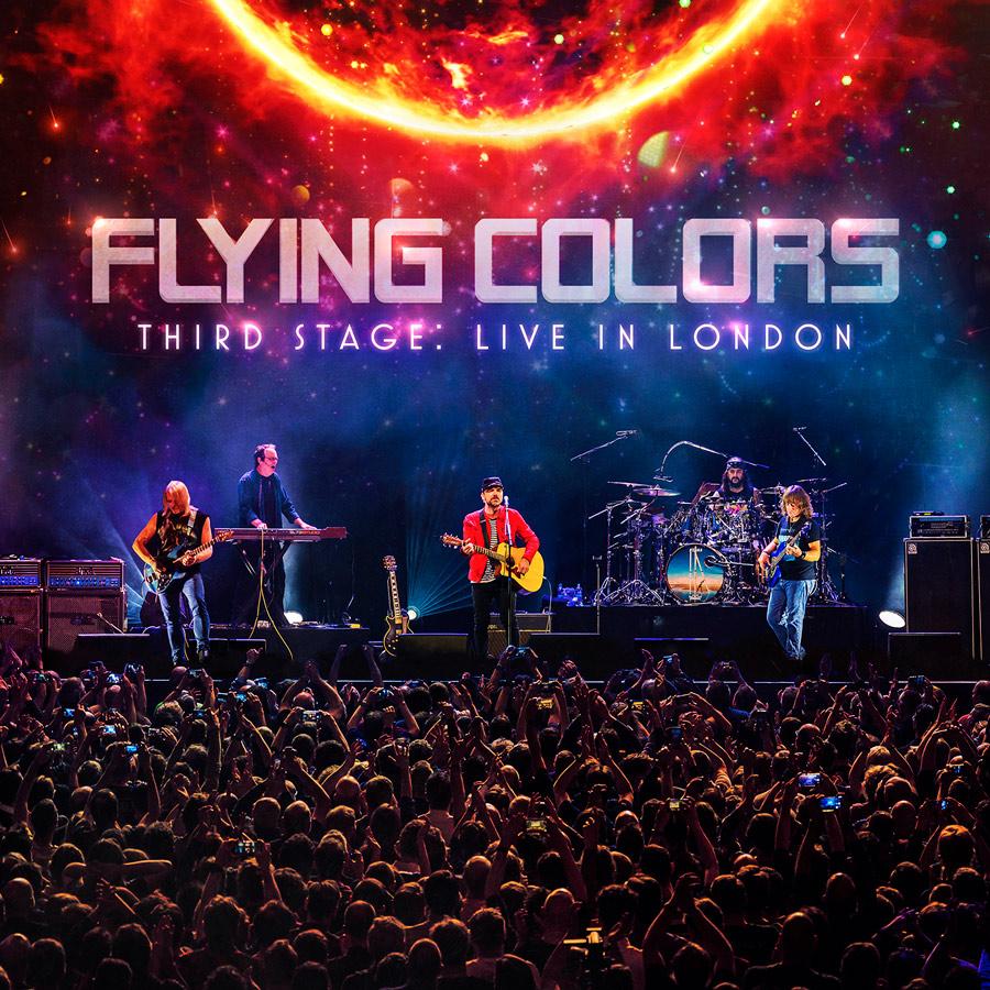 Flying Colors veröffentlichen 'Third Stage: Live In London' am 18. September 2020