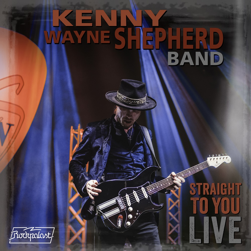 "Kenny Wayne Shepherd Band neues Album ""Straight To You: Live"""