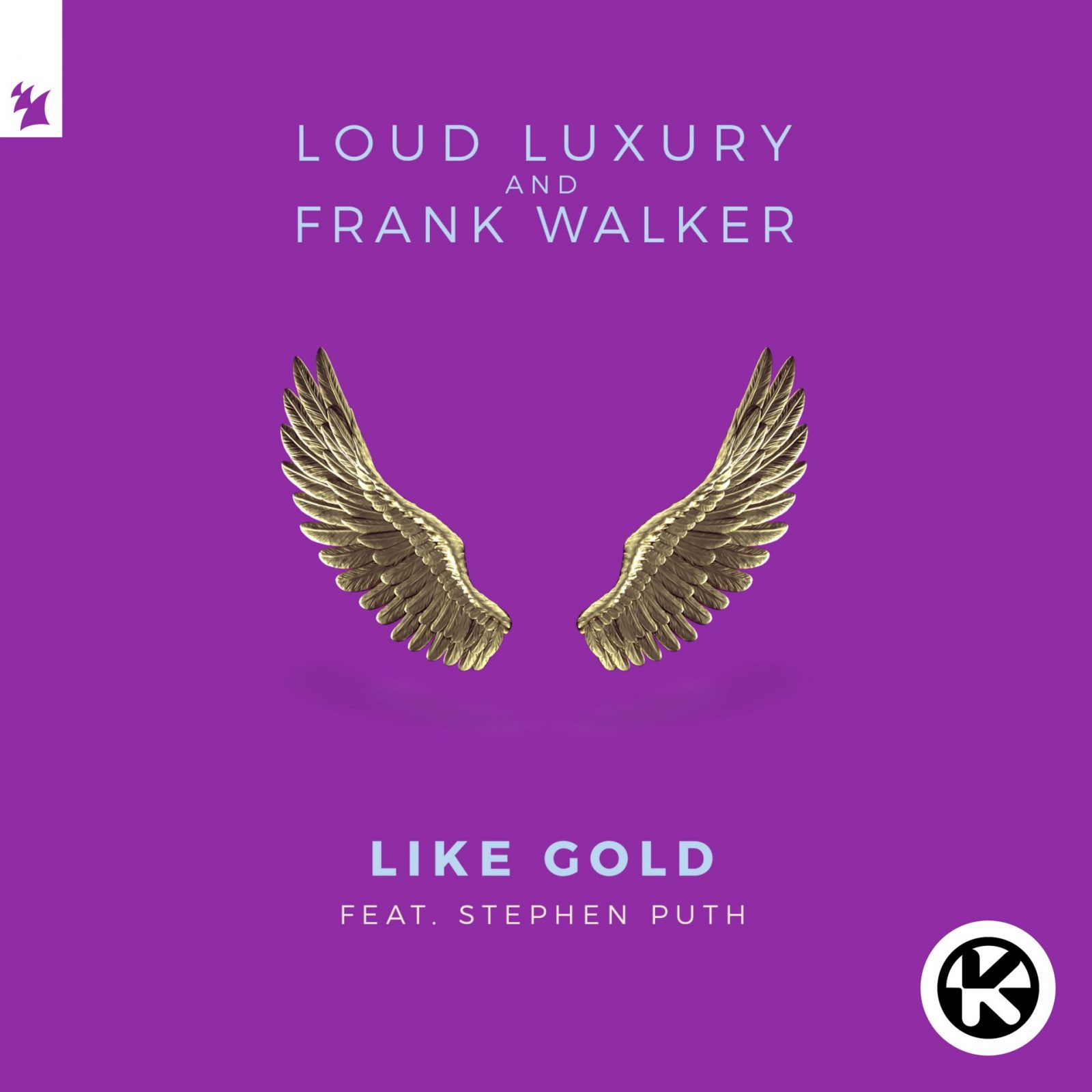 "LOUD LUXURY & FRANK WALTER FEAT. STEPHEN PUTH ""LIKE GOLD"""