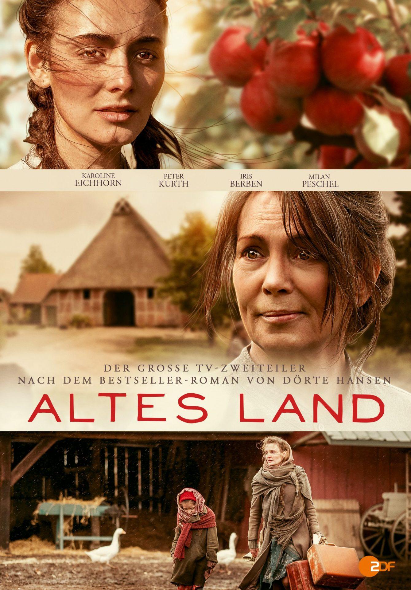 """ZDF-Zweiteiler """"Altes Land"""" DVD"""