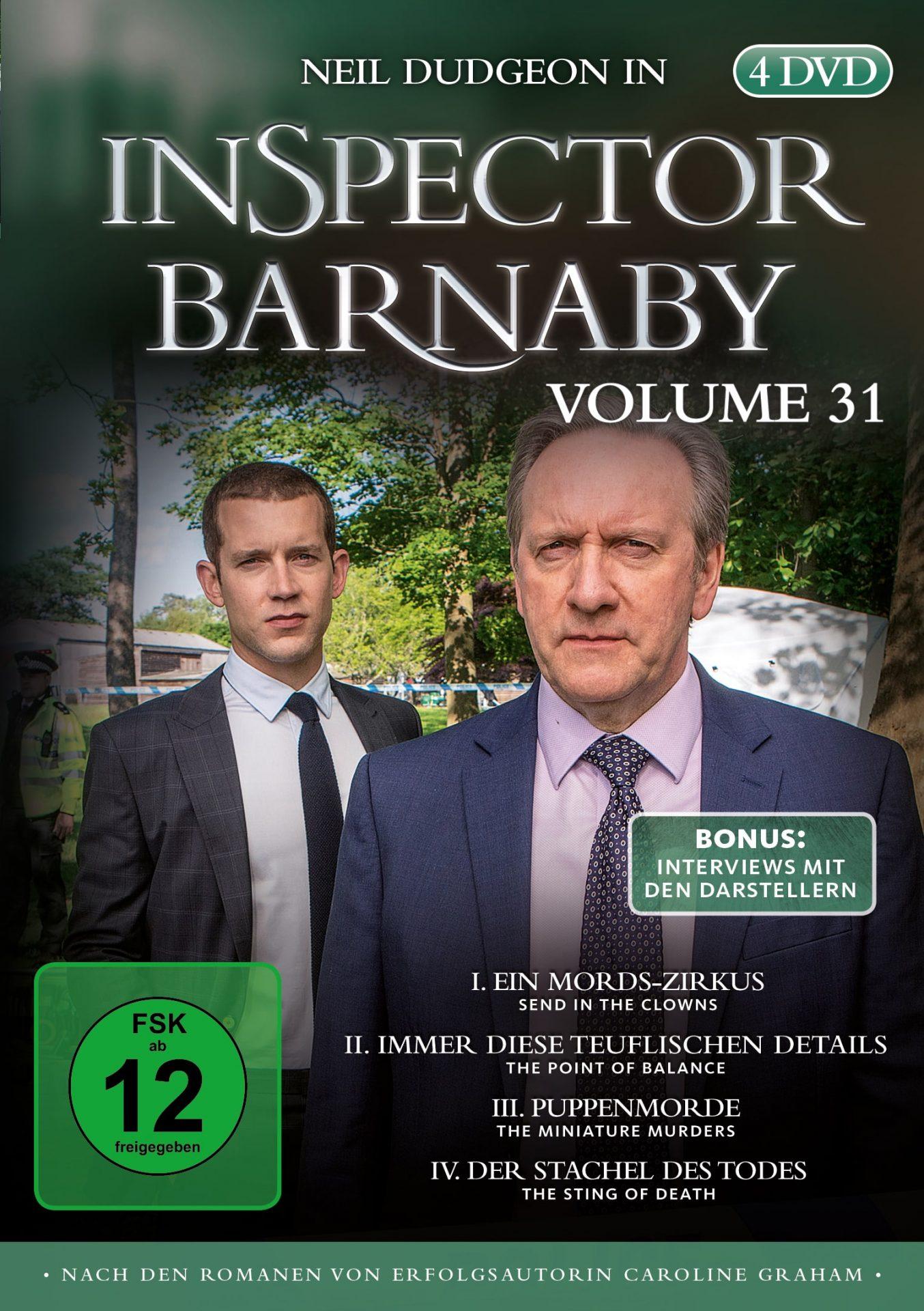 Inspector Barnaby Vol. 31 DVD