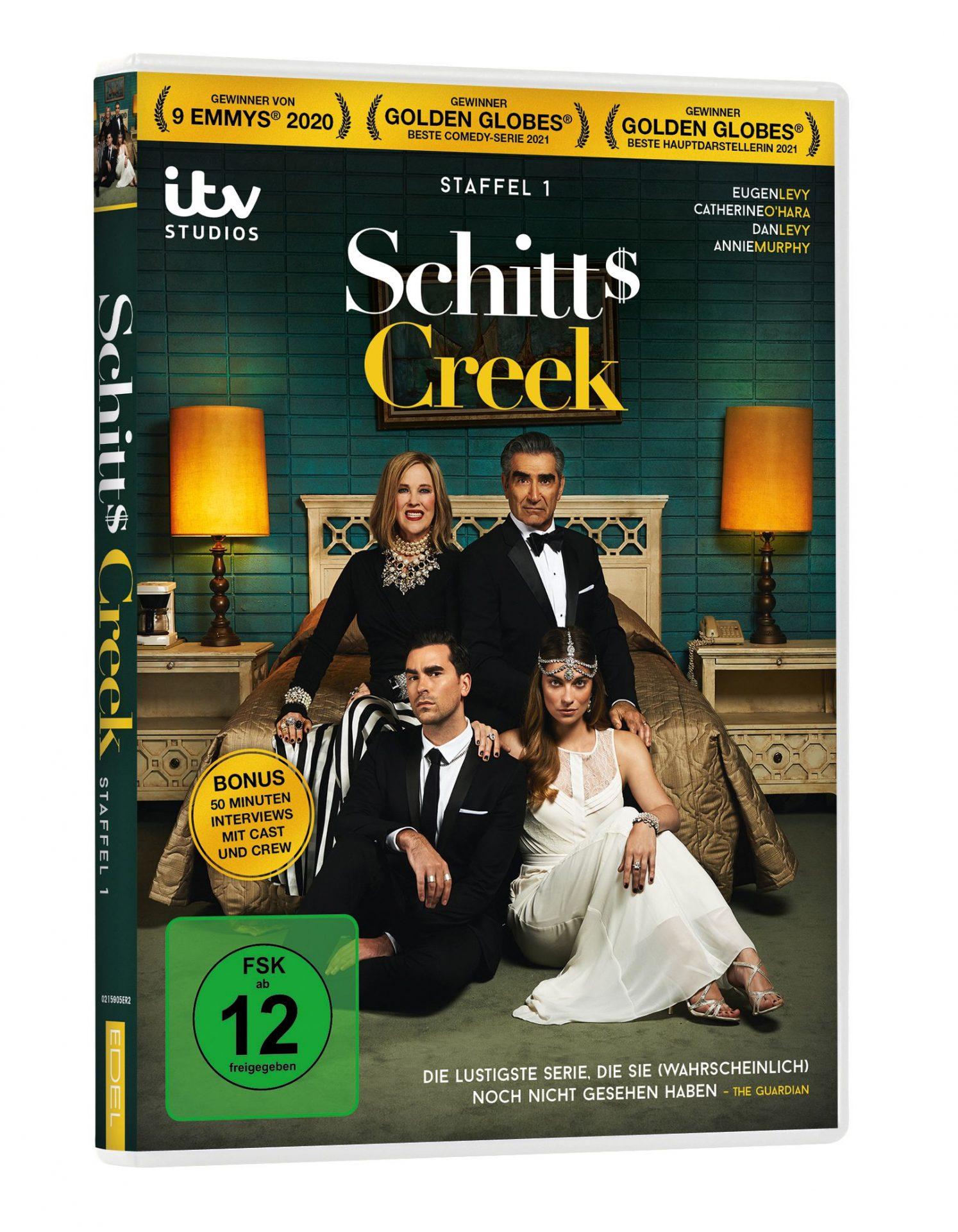 1. Staffel der vielfach preisgekrönten kanadischen TV-Comedy-Serie Schitt's Creek