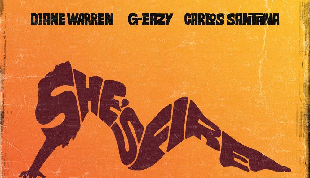 "Diane Warren ""She's Fire"" mit G-Eazy & Carlos Santana"