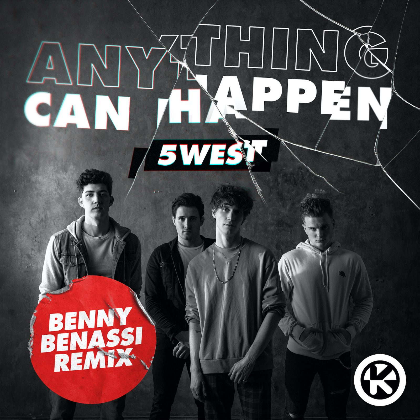 """5 WEST """"ANYTHING CAN HAPPEN (BENNY BENASSI REMIX)"""""""